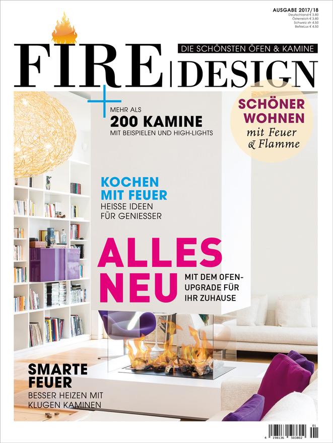 FIRE/DESIGN | Die schönsten Öfen & Kamine